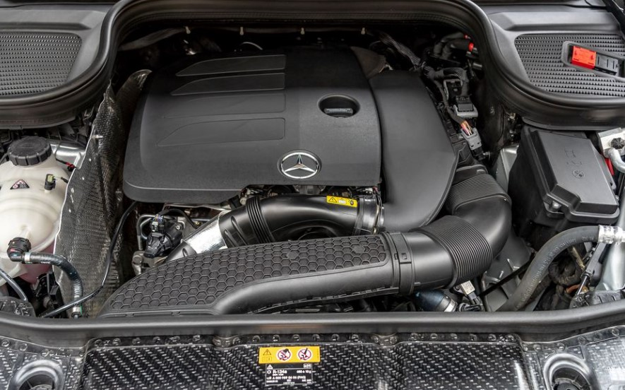 2021 Mercedes-Benz GLE Class Engine System