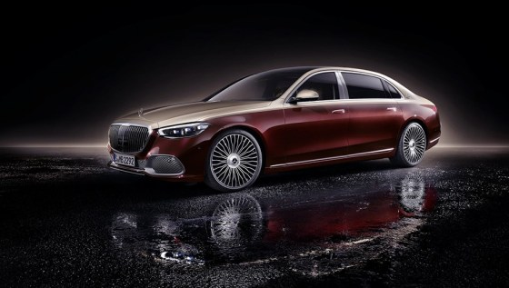 2021 Mercedes-Maybach S-Class New Exterior Design