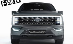 2023 Ford F-150 Electric Exterior Concept