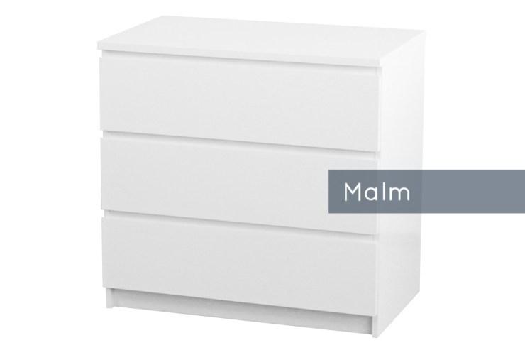 Malm Kommode 2 Schubladen 2021
