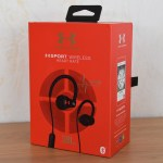 Verpackung I - JBL Under Armour Sport Wireless Heart Rate