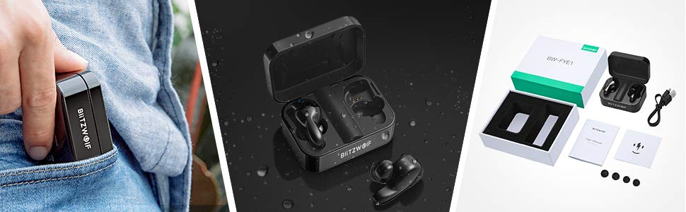 BlitzWolf BW-FYE1 Wireless Bluetooth Earbuds