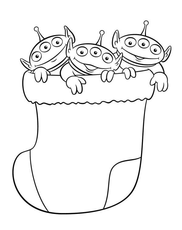 Из мультфильмов Зимние раскраски для девочек