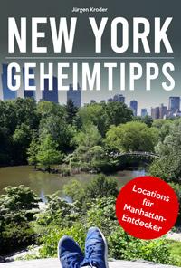 NEW YORK GEHEIMTIPPS Buch eBook Cover (Bild: Jürgen Kroder)