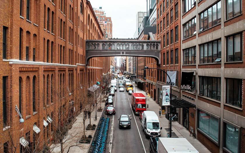 Chelsea Market in New York (Bild: Pixabay)