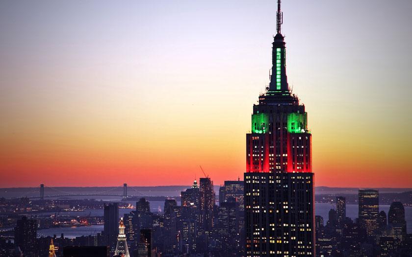 Empire State Building - Die Bedeutung der Farben bei Nacht (Bild: Shutterstock)