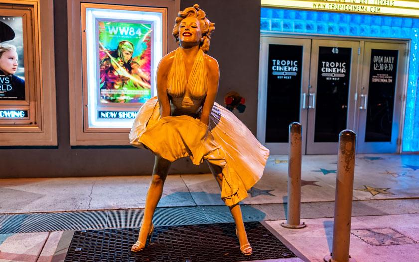 Marilyn Monroe Kleid Luftzug (Bild: Shutterstock)