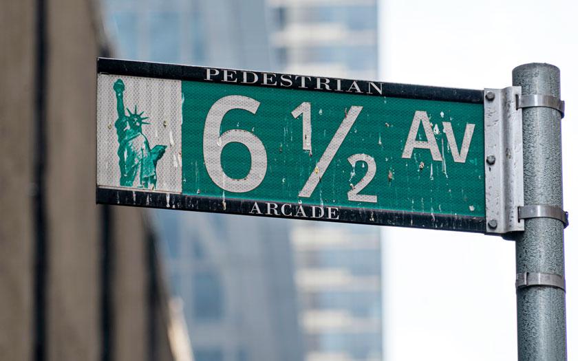 New York - Manhattan - 6 1/2 Avenue (Bild: Shutterstock)