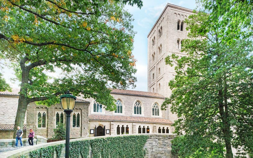 The Cloisters in New York (Bild: Courtesy of The Metropolitan Museum of Art)