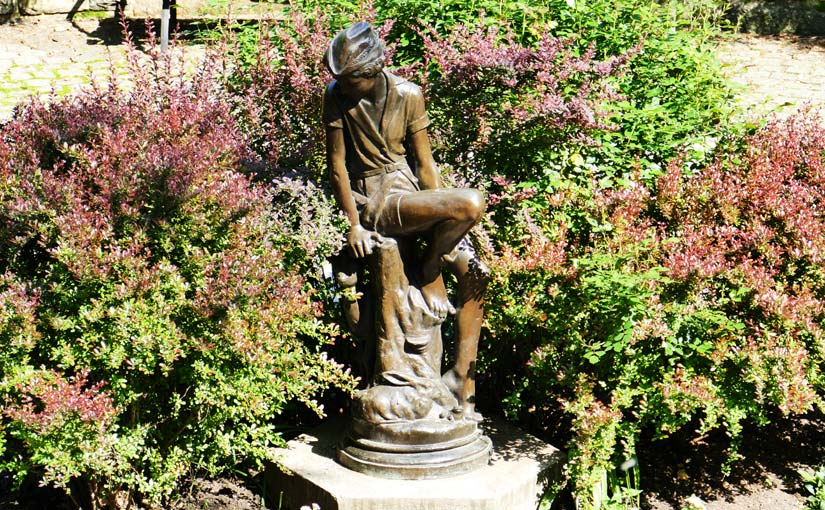 Peter Pan Monument Statue in New York (Bild: Jürgen Kroder)
