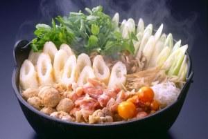 きりたんぽ(切蒲英)は秋田県の代表的な郷土料理。
