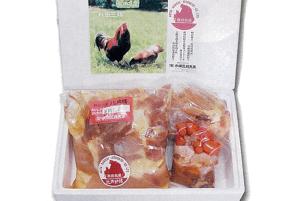 最高級比内地鶏「まつばら」正肉セット(ガラ・モツ付き)