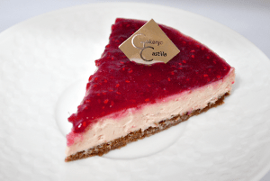 ラズベリーチーズケーキ