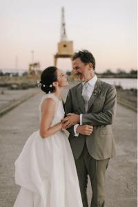 Angela Womack Bay Area Bridal updo.