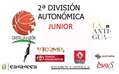 Crónica 2º división Junior CBT La Antigua Vs CB Valladolid