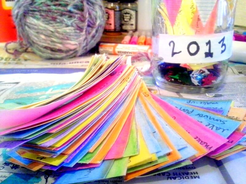 100 Things to do in 2013 - mini book