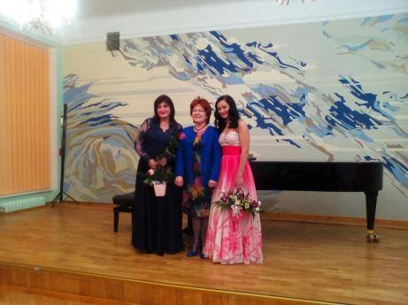 Після концерту гостей з Вищої школи музики у Братиславі у рамах міжнародного музичного фестивалю «Мистецтво піаніста-концертмейстера» (24.02.2020, мала зала ЛНМА ім. М.Лисенка)