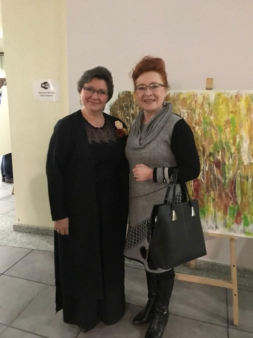 З професором Академії Музики п.Олександрою Наве (Лодз, Польща, 2018)
