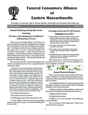 2013 Annual Newsletter