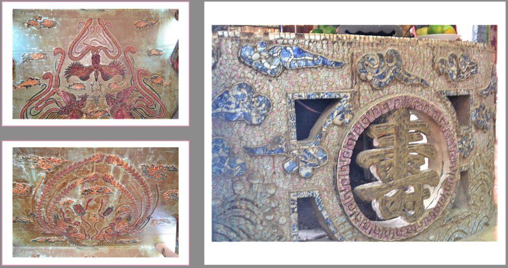 浮珠廟の装飾