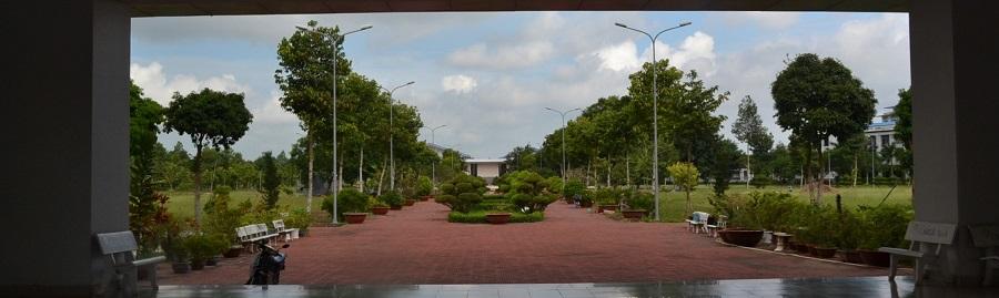 アンザン大学正面玄関