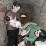 ヴィンモックトンネル内の分娩室