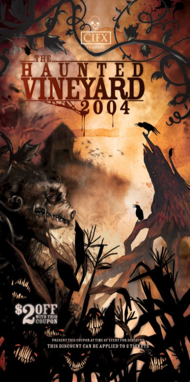 Haunted Vineyard 2004 Review
