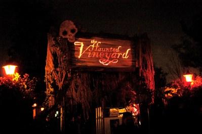Haunted Vineyard 2004 Review Entrance