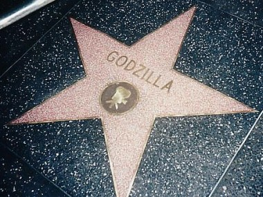 Godzilla Star Hollywood Walk of Fame