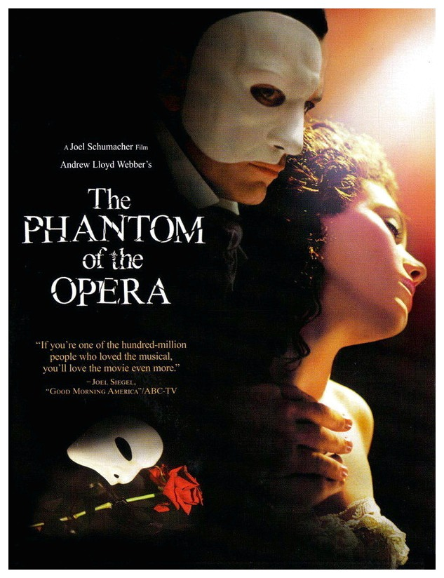 Film Review The Phantom Of The Opera 2004 Hollywood Gothique