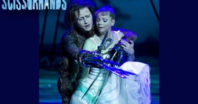 Edward Scissorhands ballet los angeles