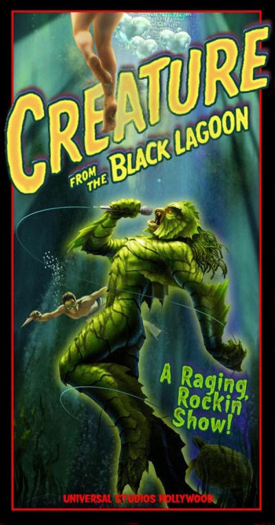Creature from the Black Lagoon A Raging Rockin' Show!