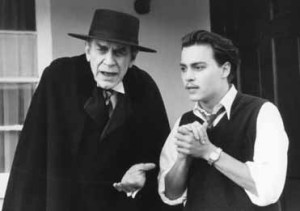 Martin Landau and Johnny Depp