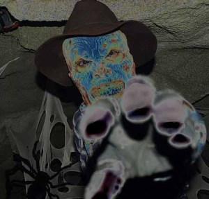 halloween haunt cowboy ghoul