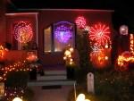 Spider Lights Yard Haunt