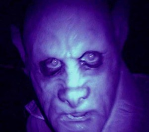 Nosferatu - one of many past characters seen on the Haunted Hayride.