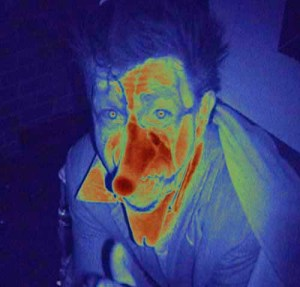 A malevolent clown at Theatre 68