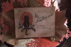 Halloween decor from the Victorian Era