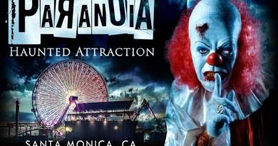 Paranoia Haunted Attraction flier