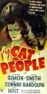 Cat People 1942 vertical poster