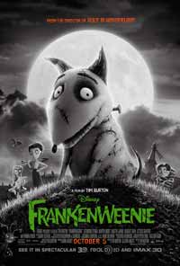 FRANKENWEENIE one sheet