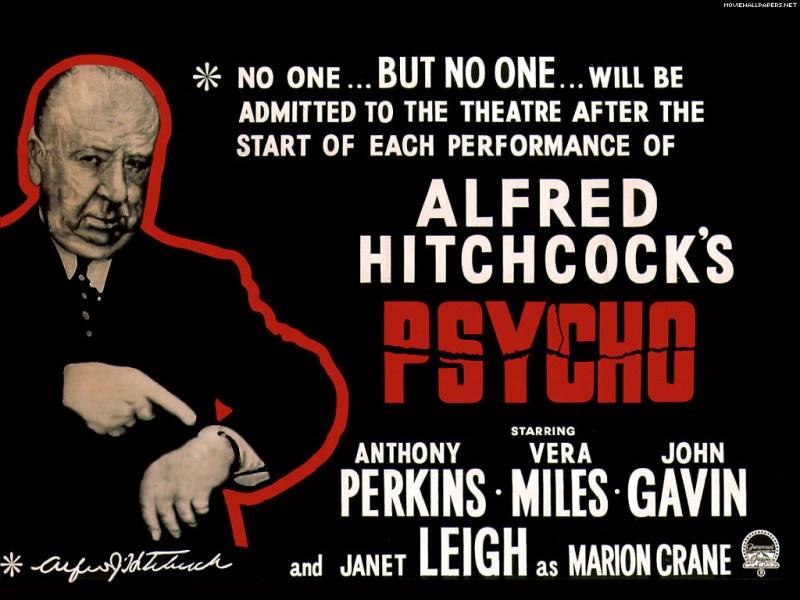 Alfred Hitchcock Psycho 1960 Halloween screening