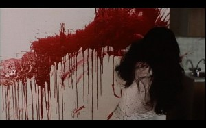 Tenebre (1982) the dying Jane paints a bloody picture