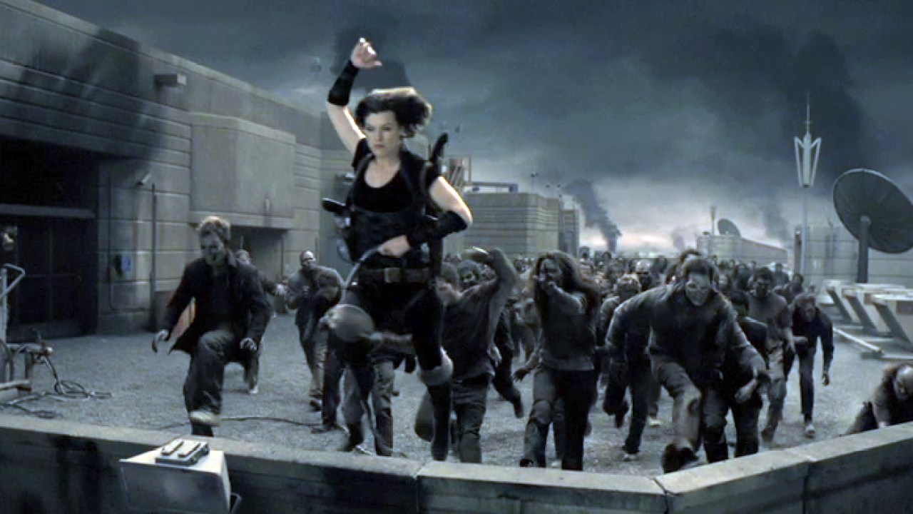 Resident Evil Afterlife Film Review Hollywood Gothique