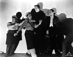 Abbott & Costello Meet Frankenstein, Dracula, The Wolf Man