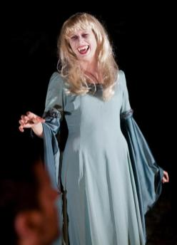 Susannah Myrvold as the vampire in Wake Not the Dead - Wicked Lit 2012