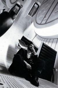 kubrick on set of 2001