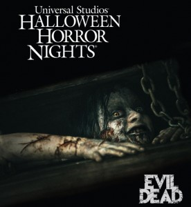 The Evil Dead invade Halloween Horror Nights 2013 at Universal Studios