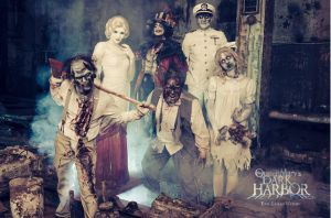Queen Mary Dark Harbor 2013 monsters