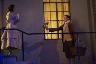 "Ilona Kulinska and Eric DeLoretta in ""The Legend of Sleepy Hollow."" Photo by Daniel Kitayama."